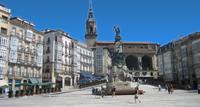 Plaza de la Virgen Blanca - Hotel Vitoria
